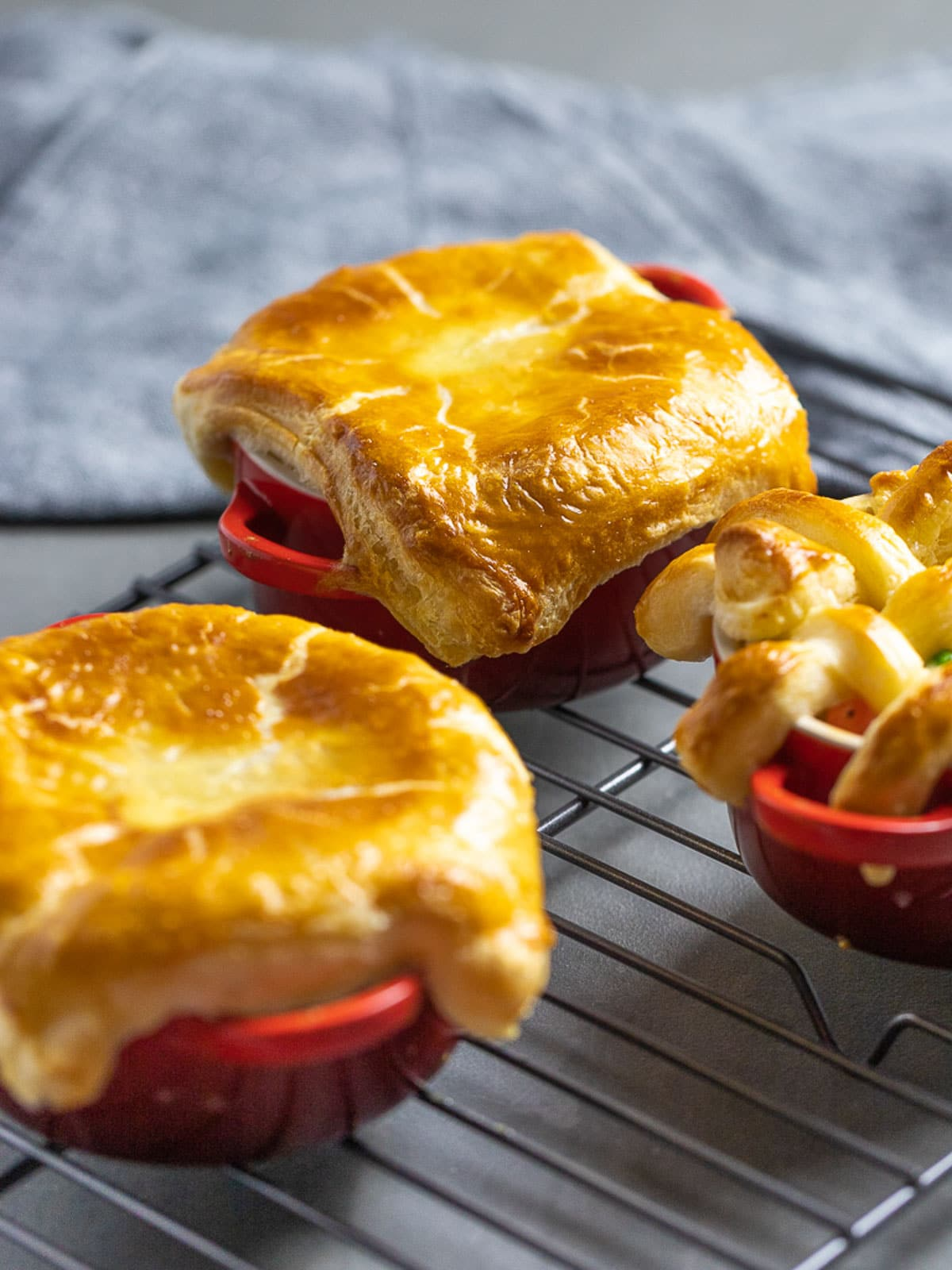 Easy Chicken Pot Pie With Puff Pastry Drive Me Hungry