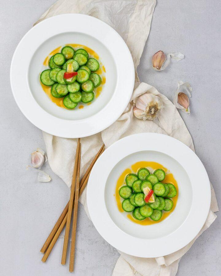 asian cucumber salad, din tai fung cucumber salad copycat