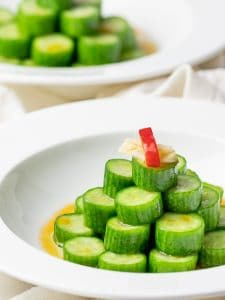 asian cucumber salad, din tai fung cucumber salad copycat