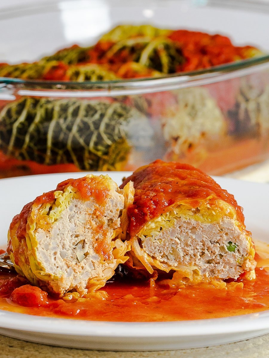 Healthy And Easy Stuffed Cabbage Rolls Recipe Drive Me Hungry,Best Refrigerator For Garage