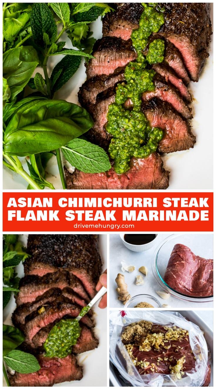 Asian Chimichurri Steak   Foolproof Asian Flank Steak Marinade