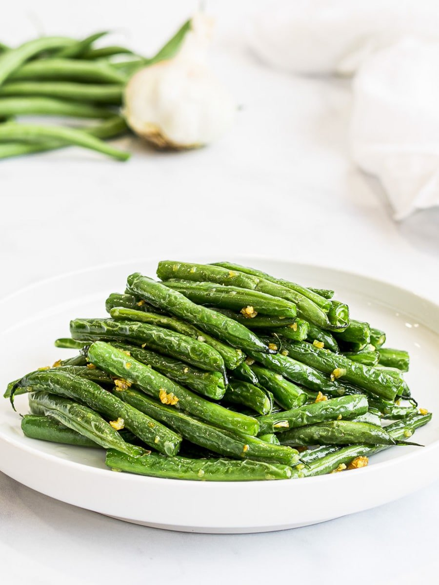 Chinese Style Dry Fried Garlic Green Beans Drive Me Hungry