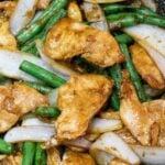 Panda Express String Bean Chicken Breast Copycat; chicken and green bean stir fry