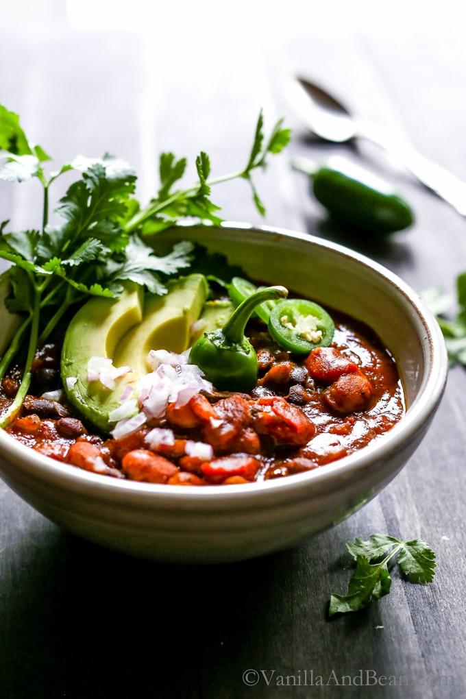 kabocha squash chili
