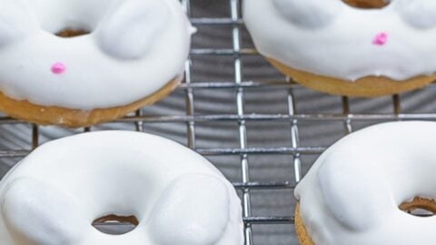 Easy Easter Bunny Donuts