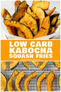 low carb kabocha squash fries