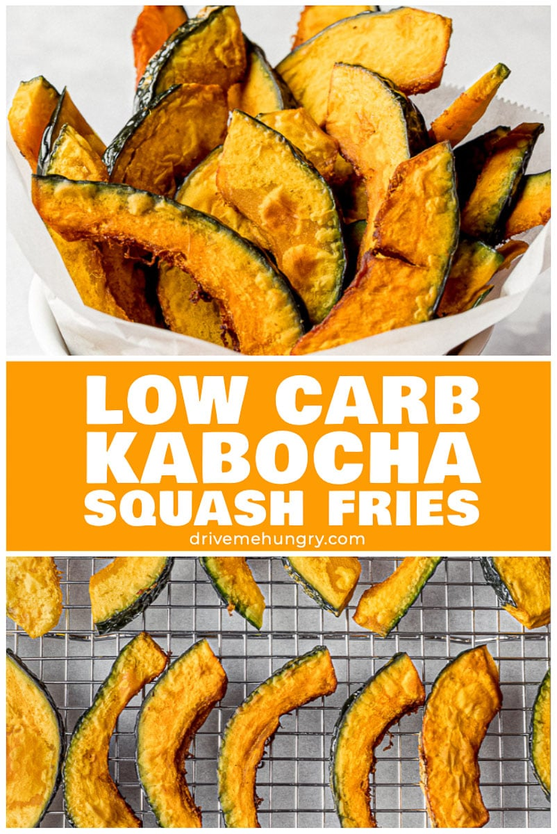 Kabocha Squash Fries | Japanese Pumpkin Fries