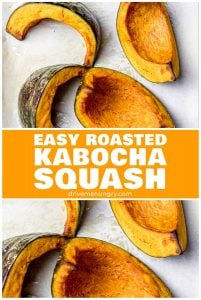 Easy roasted kabocha squash