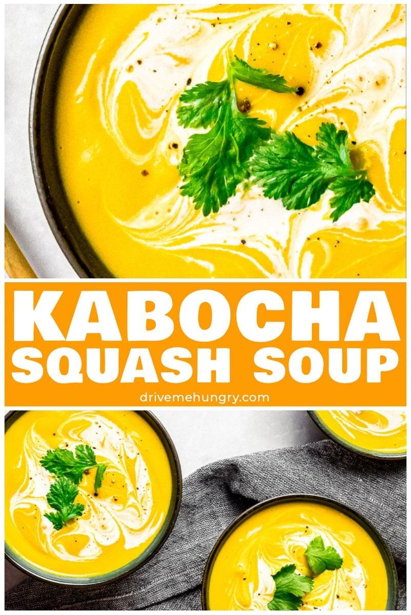 Roasted Kabocha Squash Soup   Vegan Pumpkin Soup