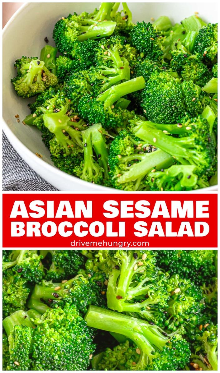 Asian Sesame Broccoli Salad