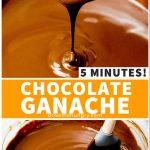 5 minutes chocolate ganache
