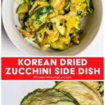 Korean dried zucchini side dish