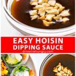 Easy hoisin dipping sauce