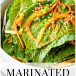 marinated korean perilla leaves