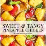 sweet & tangy pineapple chicken