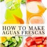 how to make aguas frescas