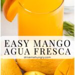 Easy Mango Agua Fresca