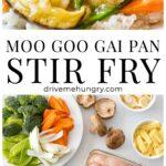 Moo Goo Gai Pan Stir Fry